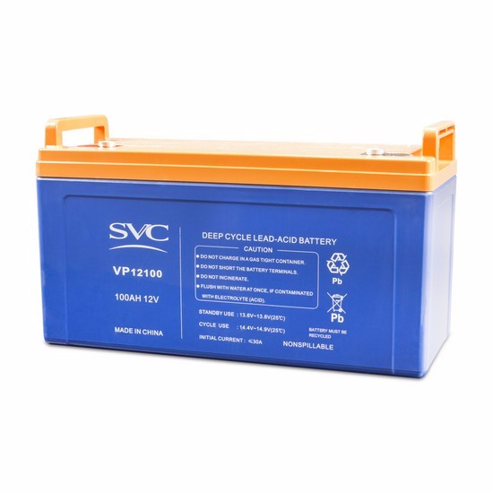 100Ah Valve Regulated Sealed Lead Acid Battery