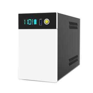 Line Interactive Simulated Sine wave Smart UPS with USB charger with Lithium battery for home Appliances 600VA 800VA 1200VA