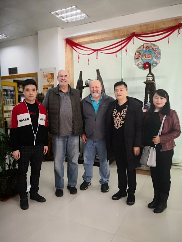 FOREIGN CUSTOMERS VISIT