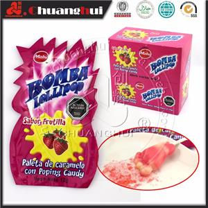 Bigfoot Lollipop Bomb Popping Candy