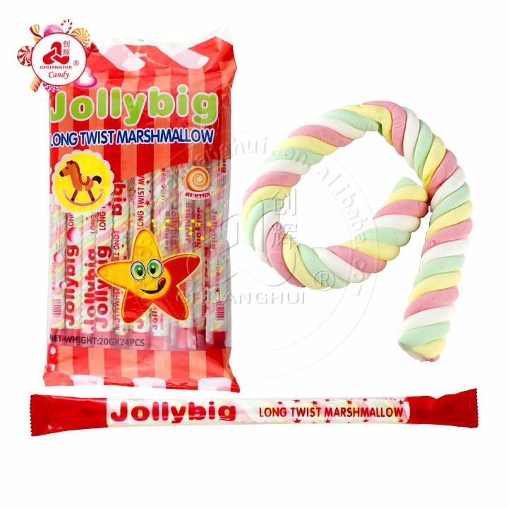 20g jollybig long twist marshmallow Manufacturers, 20g jollybig long twist marshmallow Factory, Supply 20g jollybig long twist marshmallow