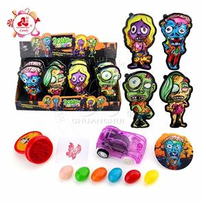 Zombie Attack Surprise Egg Candy toys with jelly bean