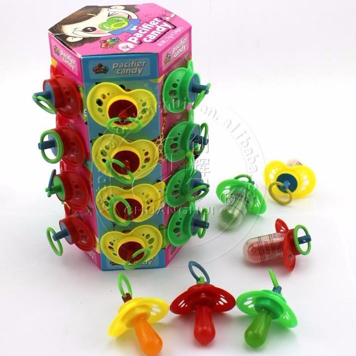 Plastic Pacifier lollipop candy