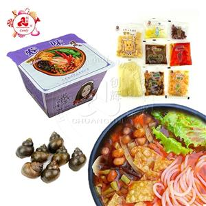 Hot selling instant rice noodles Sour Spicy Rice Liuzhou river snails rice noodle-luosifen