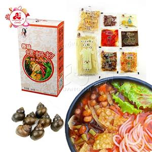 China Specialty Hot And Sour rice noodles liuzhou river snail rice noodles in box
