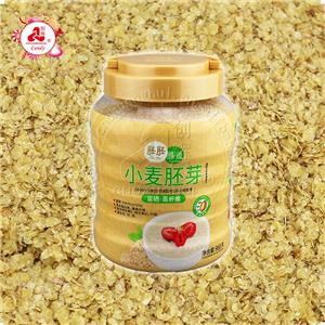 Wheat embryo, Wheat Germ Flakes Instant Cereal Breakfast high fiber high protein