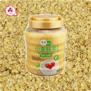 Зародыш пшеницы, хлопья пшеничных зародышей быстрого приготовления, завтрак с высоким содержанием клетчатки и высоким содержанием белка