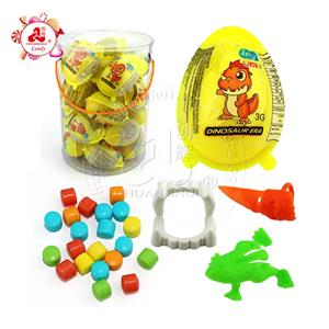 Promotional small capsule surprise Dinosaur egg Toy Candy