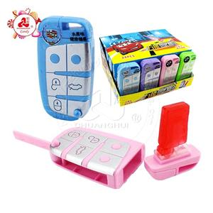 Fun car key shape toy with fruit flavor hard candy