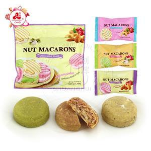Ореховые макароны Хрустящее бисквитное печенье смесь миндаля Фисташковые орехи кешью