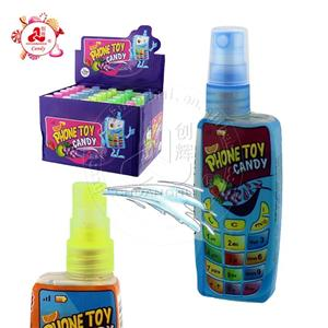 Mobile phone shape spray candy phone toy candy
