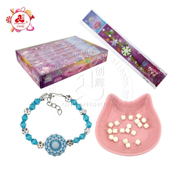 Exquisite Girl Bracelet toys with soda pressed candy