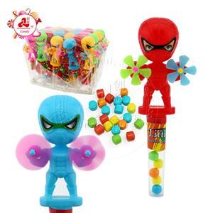 Кукла паук с двойной ветряной мельницей игрушка конфета