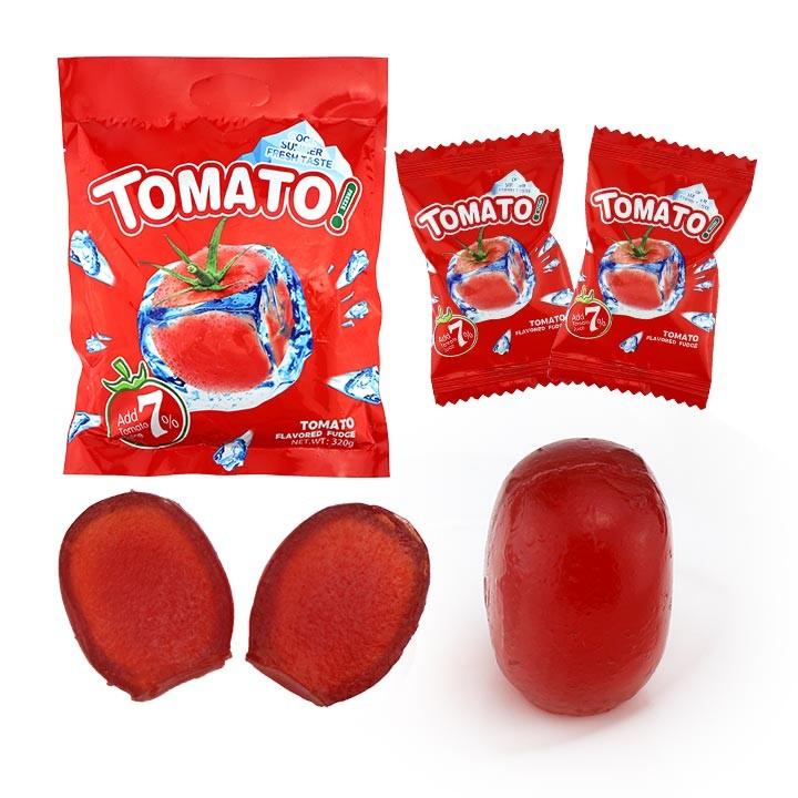 Высококачественная мята Помидор мягкий гель конфеты томатный вкус гель желе конфеты