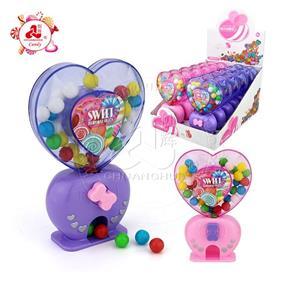 Игрушка для любви в форме сердца, диспенсер для конфет, светодиодный индикатор с красочными сладкими конфетами