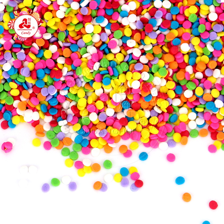 Cake decoration pressed tablet candy edible small round shape sugar Baking materials cake sprinkles