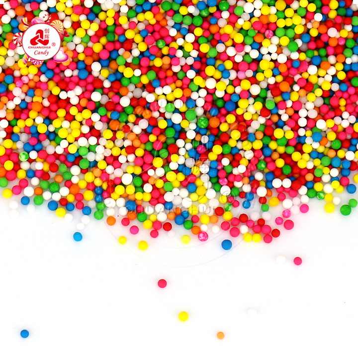 Bakery Decoration Sweet Edible Sprinkle Candy Mini Pearl Sugar for cake