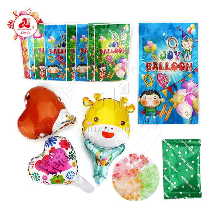 Funny Joy Small Balloon and popping candy Surprise Bag Toy Candy