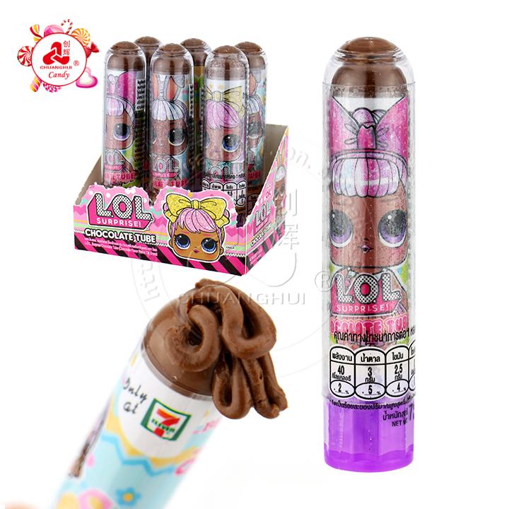 7-Eleven Rouge à lèvres au sirop de chocolat cheveux fous bonbons à la confiture de chocolat