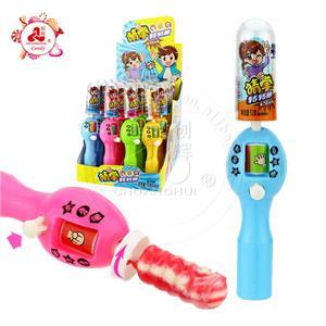 Каменные ножницы для угадывания пальцев, ткань, игрушка mora games, с ручным прессом, вращающийся леденец, леденец