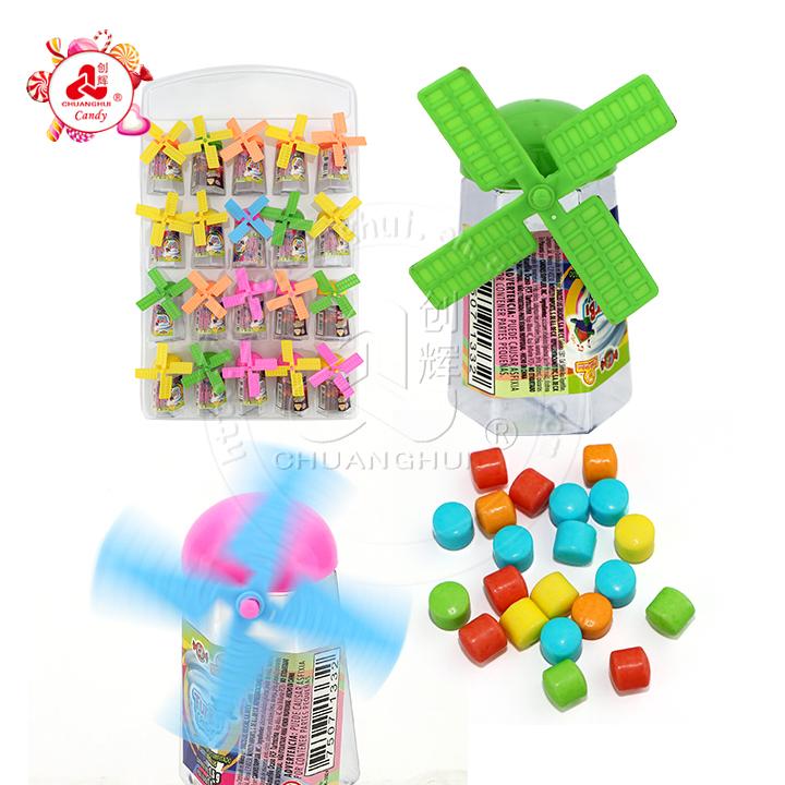 Прессованные конфеты в баночке Домика Ветряная Мельница игрушечная конфета