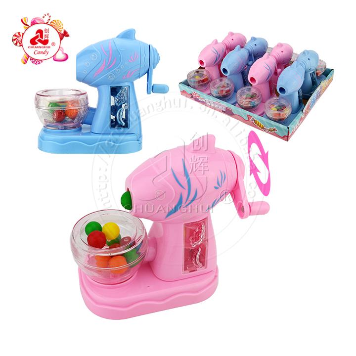 Смешная ручная тряска измельчитель рафинер модер игрушка конфеты жемчуг диспенсер для конфет
