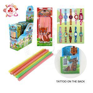 Sac de tatouage de montre magique avec des bonbons à la saveur fruitée CC