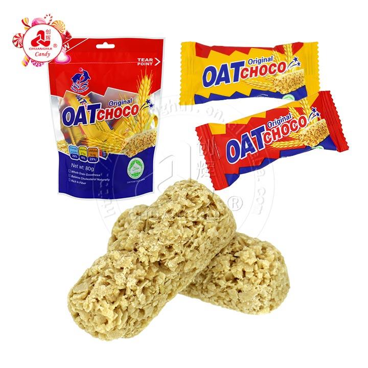 80g OAT choco Oatmeal Biscuit , Oatmeal Crisp Cookies