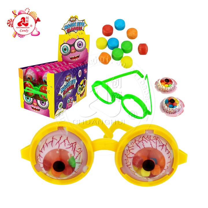 Игрушка в очках Magic Blast в форме глаз с прессованными конфетами