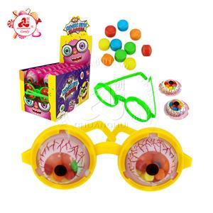 Juguete mágico de los vidrios de la forma del ojo de la explosión con el caramelo prensado