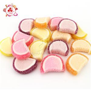 Оптовая продажа сладких фруктов со вкусом арбуза, мягкие мармеладные конфеты