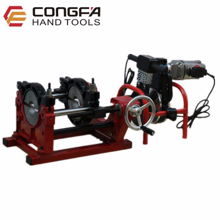 63-160mm Screw HDPE Manual Butt Fusion Welding Machine