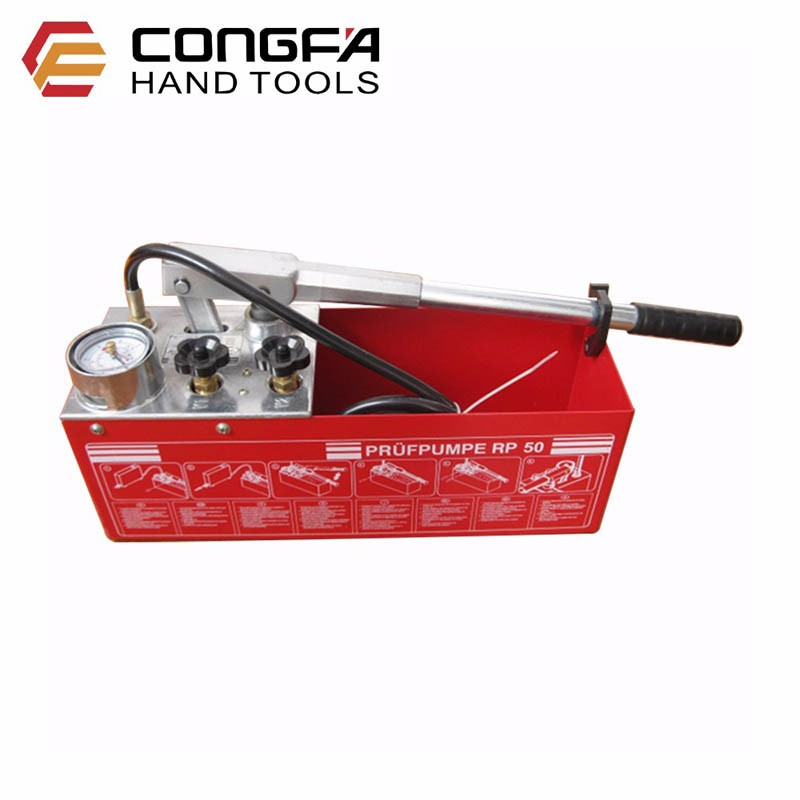 0-50bar 12L Herramienta de prueba de presión hidráulica