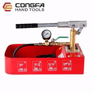 Équipement d'essai manuel de pression de l'eau 0-60bar