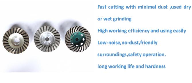 Aluminium Base Cup Wheels