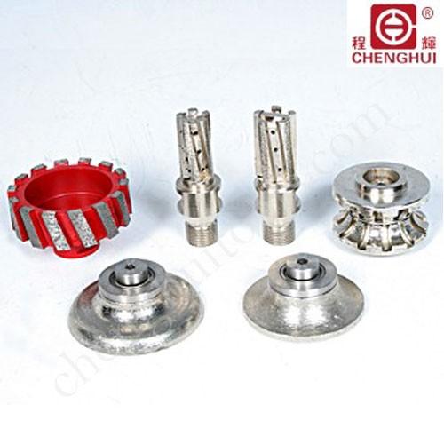Profile grinding wheels