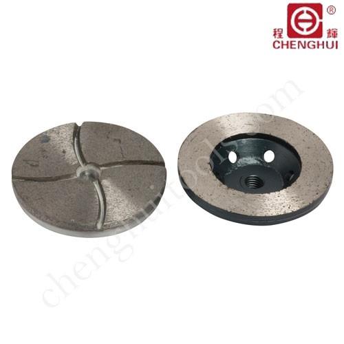 Ceramic polishing wheels