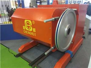 Diamond wire saw machine for marble quarry