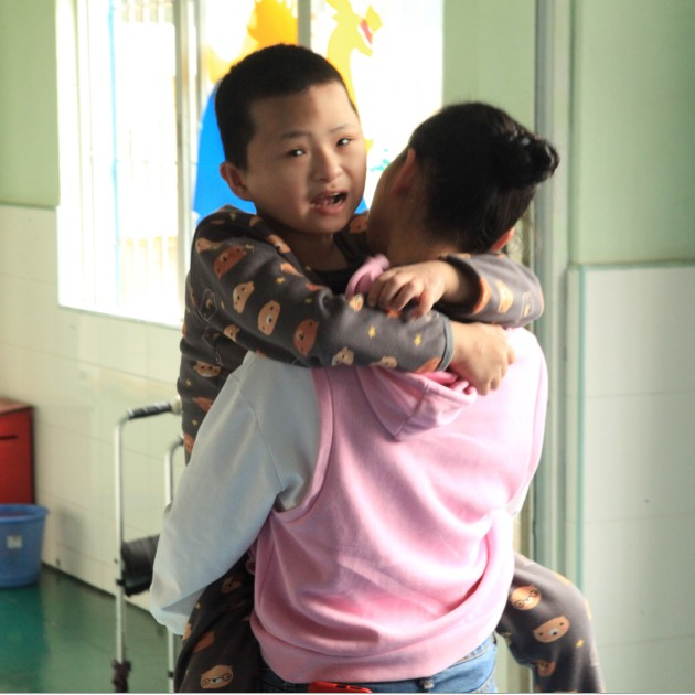 Charitable activities in orphanages