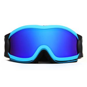Big frame waterproof HD vision bright color ski goggles SNOW-2500