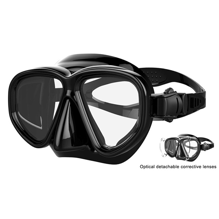 No leaking Diving equipment training diving snorkel mask MK-500