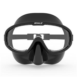 Freediving silicone skirt strap UV protection full face scuba diving mask MK-1700