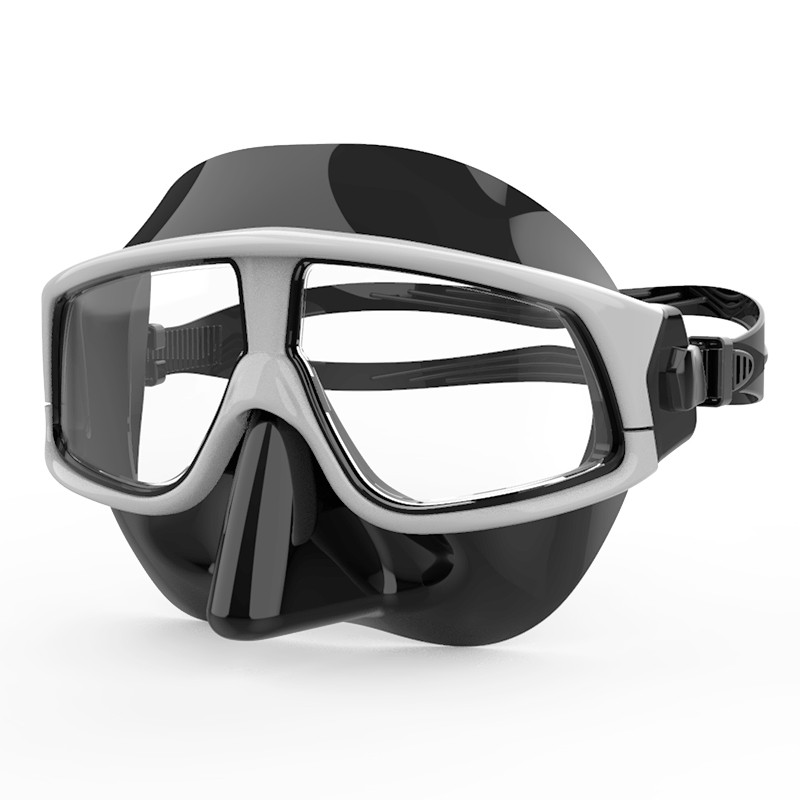 2020 new design mask with nose full protective guard waterproof diving goggle MK-1600