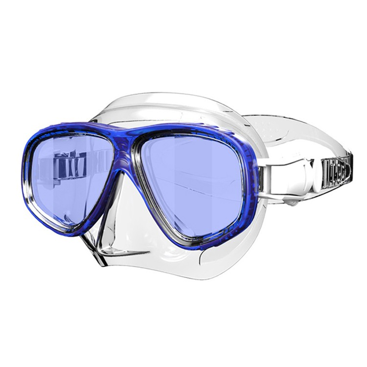 Waterproof adjustable low volume underwater diving mask MK-400
