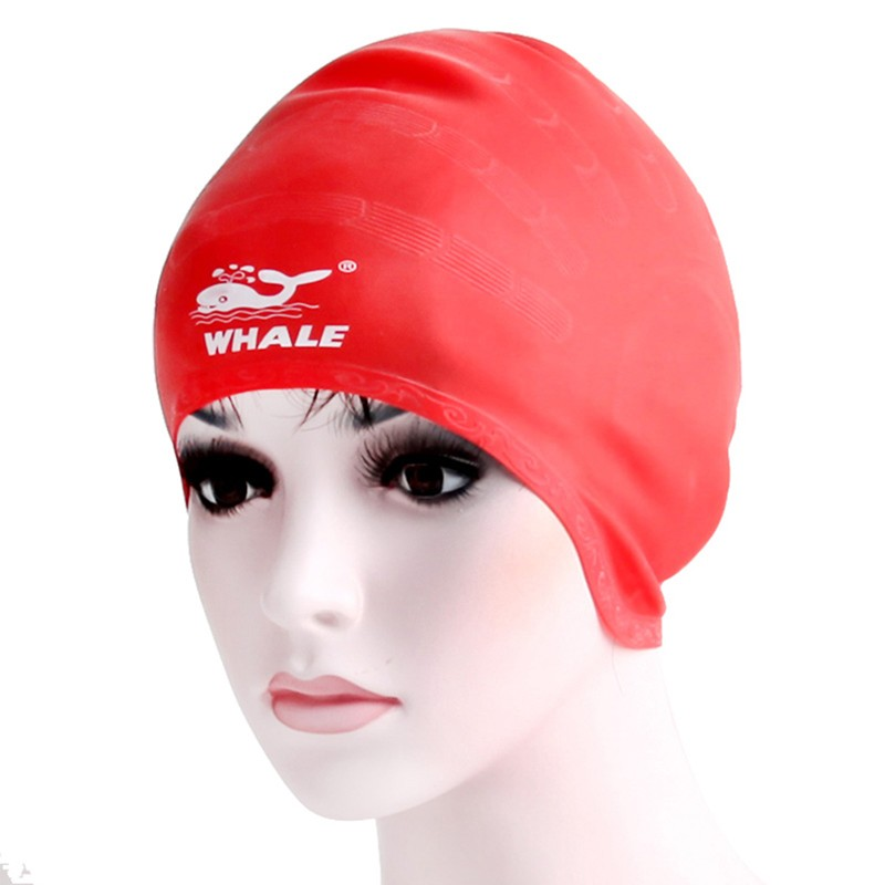 Custom printing pattern protection ear spherical swimming cap CAP-1100