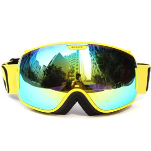 Advanced unique design adjustable nose piece ski glasses SNOW-3800