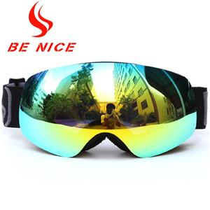 Junior detachable strap frameless snow sports glassesSNOW-4700