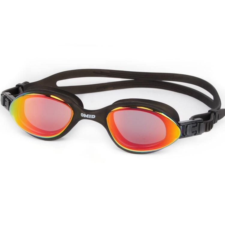 Full vacuum optical plating safety training swim glasses CF-5600