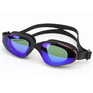 Superior quality UV protection multi colors PC lens ultra clear swimming goggles CF-8900