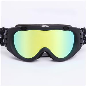 High density adjustable non-slip webbing permanent anti-fog universal ski goggles SNOW-300